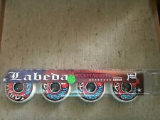 Labeda Gripper Hockey Wheels Soft 72 { 4 Pack Roller Wheels } / New