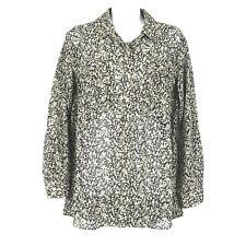 Anthropologie Staring At Stars Womens Button Down Shirt Long Sleeve Top Medium M