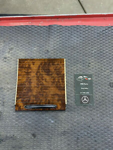 MERCEDES W163 ML55 ML350 OEM ML500 Center Console Burl Wood Roller Blind 02-05