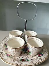 Midwinter Vintage  Egg Cup holder with 4 Eggcups