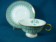 Theodore Haviland Cambridge Green Cup and Saucer Set(s)