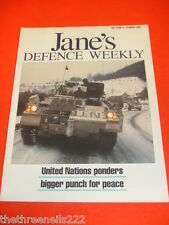 JANES DEFENCE WEEKLY - UNITED NATIONS - MARCH 13 1993 VOL 19 # 11