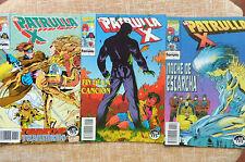 Comics, La Patrulla X, nº 136, 151 y 152, Forum, Marvel, 1993 y 1995, Lee Weeks