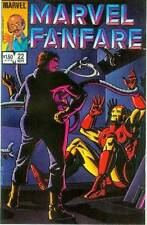Marvel Fanfare # 22: Iron Man vs. Dr.Octopus (Ken Steacy) (USA,1985)