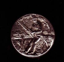 pin's relief 3D en metal argent vieiili peche fishing Corner TW&W