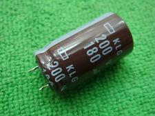 1pc NIPPON 200V 180UF Radial Electrolytic Capacitor