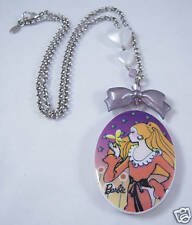 Tarina Tarantino Butterfly Barbie Cameo Necklace 24""