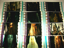 LORD OF THE RINGS Mix Film Cell Lot of 12 - collectible compliments dvd poster