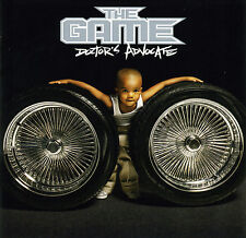The Game DOCTOR'S ADVOCATE (Retail Promo CD, Album) Clean / Edited (2006)