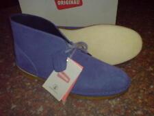 Nuevas Botas Desierto Clarks Original Mens ** ** ** Gamuza Azul Oscuro Uk 10.5/10