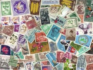 BULK MIX 1,000+ WORLD STAMPS OFF PAPER  inc - FREE  POST IN OZ: