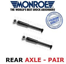 FOR RENAULT LAGUNA MK2 2 REAR MONROE SHOCK ABSORBERS SHOCKS SHOCKERS 2001-2007
