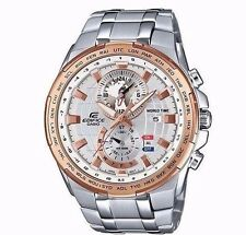 New Casio Edifice EFR-550D-7AVUDF Stainless Steel Men's Wrist Watch UK