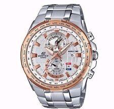 New Casio Edifice EFR-550D-7AVUDF Stainless Steel Men's Wrist Watch UK