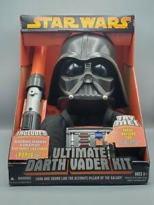 Hasbro Star Wars Ultimate Darth Vader Kit with Lightsaber Voice Changer Cape NEW