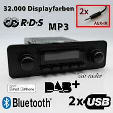 Retrosound San Diego DAB+ Komplettset Black Oldtimer Radio USB MP3 Bluetooth