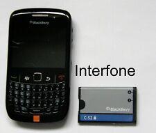 Blackberry 8520 Mobile Phone-Locked Orange-V/Good Cond-Optional Charger Bundle