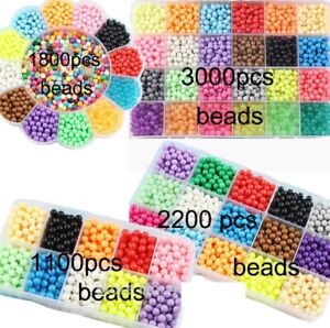 Playing Fuse Beads Magic Water Creative Multicolor DIY Kit Craft Girls Gift Toys