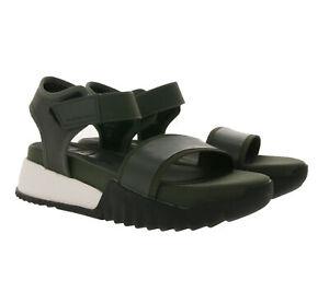 G-STAR RAW Plateau-Sandalen auffällige Damen Sandaletten Retro-Style mit Klettve