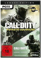Call of duty Infinite Warfare Legacy Edition d1 PC 2016 nuevo Steam key & DVD Box