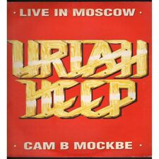 Uriah Heep Lp Vinile Live In Moscow / Five FM 13627 Gatefold Nuovo