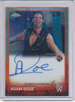 Topps Chrome WWE Autograph - Adam Rose Auto