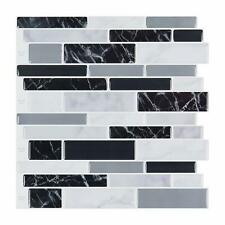 10-Sheet Peel and Stick Self Adhesive Backsplash Tiles, 11.6