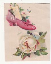 W M Scott Furniture Carpets Mulberry St Price List Shoe Rose Vict Card c1880s