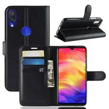 Coque de protection Housse Pochette Wallet Case pour  Xiaomi Redmi Note 7 Noir