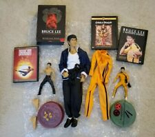 Ultimate Bruce Lee figures by Art asylum and DVD collection