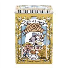 Boîte à farine embossée Pour mettre la main à la pâte - Derrière la porte