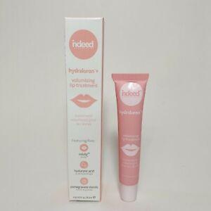 INDEED LABORATORIES Hydraluron+ Volumising Lip Treatment .31oz/9.3ml New in Box
