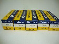 5 X PL36 HALTRON TUBES. NOS/NIB, CRYOTREATED