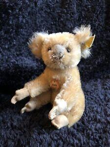 Rare 1955/61 German Steiff Koala w. ALL ID !
