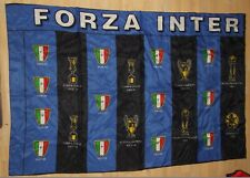 SCIARPA CALCIO BANDIERA FLAG ULTRAS INTER RASO (426)