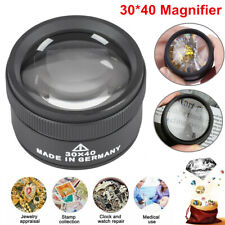 40x Magnifying Glass Eye Loop Optical Magnifier Jewelry Watch Repair Tool USA