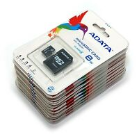 New Lot Of 50 ADATA Class 4 8GB MicroSD Micro SD SDHC TF Flash Memory Card 8 GB