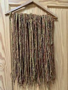 Wool Dreads Handmade Dreadlocks FULL SET