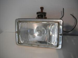 ORIGINAL CLASSIC RECTANGULAR RAYDYOT HALOGEN 8128 CAR SPOT FOG LIGHT LAMP