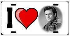 L@@K Johnny Cash Country Music License Plate Vanity Auto Tag