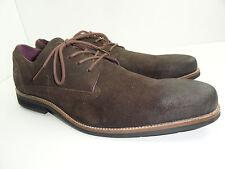 Blackstone Men's Ebony AM-05 Brown Nubuck Dress Casual Oxford Shoes Size 11.5