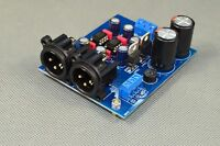 Assembled DRV134PA dual-channel single-ended to balance board