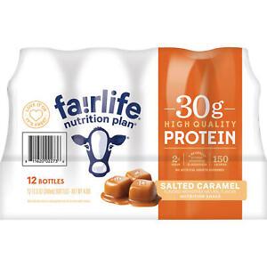 Fairlife Nutrition Plan Salted Caramel, 30 g Protein Shake, 11.5 fl. oz., 12 pk.