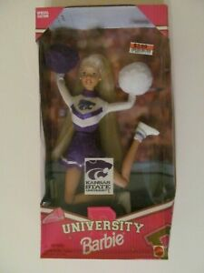 Barbie - Kansas State University - 1996 - No. 19156 - Damaged Box