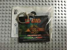 LEGO KEYCHAIN STAR WARS 5002139 CHOOSE YOUR SIDE-YODA-DARTH VADER- SITH OR JEDI