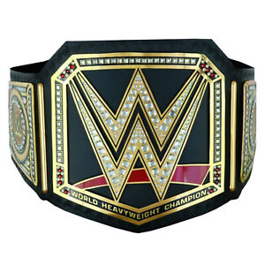 SH World Heavyweight Champion Wrestling Belt Replica Leather Adult 2mm + Bag