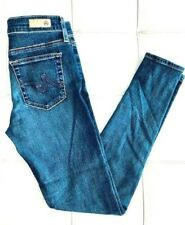 AG Adriano Goldschmied Farrah High Rise Skinny SOUTH GATE Blue Jeans Size 28R