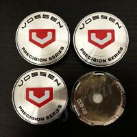 4pcs 60mm Vossen Precision Series Car Wheel Center Hub Cap Badge Emblem Stickers