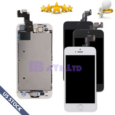 For iPhone SE LCD Screen Touch Digitizer Replacement With Home Button Camera