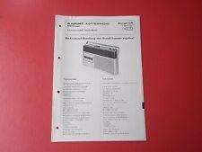 Blaupunkt Bongo CR orig.Service Anleitung Manual 7654050,7654054